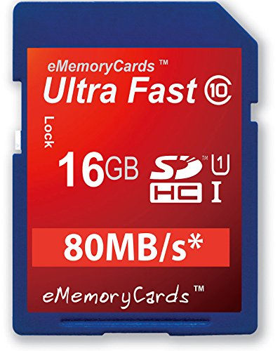 eMemoryCards 16GB Ultra schnelle