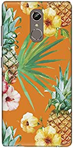The Racoon Grip Tropical Love hard plastic printed back case/cover for Gionee S6S