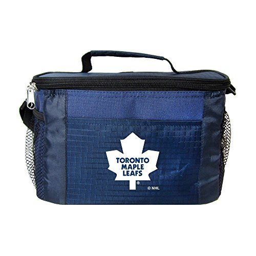 nhl-toronto-maple-leafs-insulated-lunch-cooler-bag-with-zipper-closure-navy-by-kolder