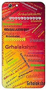 Grhalakshmi (Popular Girl Name) Name & Sign Printed All over customize & Personalized!! Protective back cover for your Smart Phone : Apple iPhone 7
