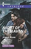 img - for Night of the Raven (Harlequin LP Intrigue) book / textbook / text book