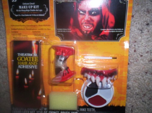 Deluxe Devil Make Up Kit/Halloween Devil Make-Up