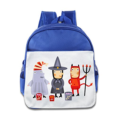 XJBD Custom Personalized Halloween Kids Children School Bag For 1-6 Years Old RoyalBlue (Guardians Of The Galaxy Trailer compare prices)