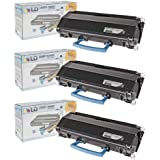 LD © Compatible Lexmark X203A11G Set of 3 Black Laser Toner Cartridges for use in the X204N Printer