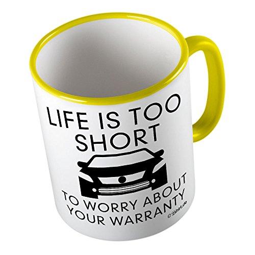 Life is too short ★ Tazza buffa - Tazza da caffè - Tazza da tè ★ stampa di alta qualità e slogan buffo ★ Il regalo perfetto per ogni occasione