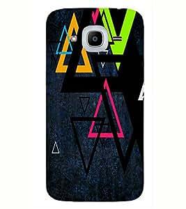 Kingcase Printed Back Case Cover For Samsung Galaxy J2 2016 Edition - Multicolor