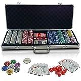"""Pokerkoffer Pokerset inkl. 500 hochwertiger Spielchipsvon """"Jago"""""""