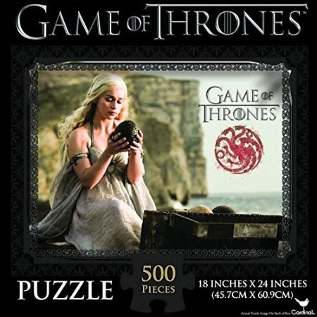 Game of Thrones Jigsaw Puzzle (500-Piece), Styles May Vary - 1