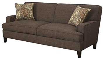Coaster Home Furnishings 503581 Casual Sofa, Chocolate
