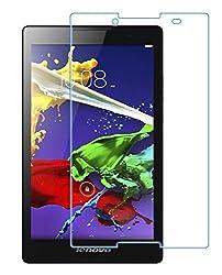 Colorcase Tempered Glass Screenguard for Lenovo Tab 2 A8-50