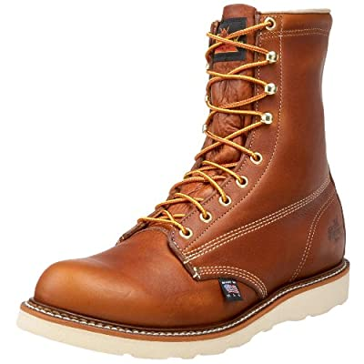 "Thorogood Men's American Heritage 8"" Plain Toe Boot"