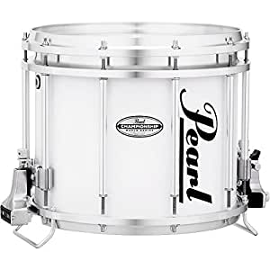 pearl championship maple ffx marching snare drum 13 x 11 in pure white musical. Black Bedroom Furniture Sets. Home Design Ideas