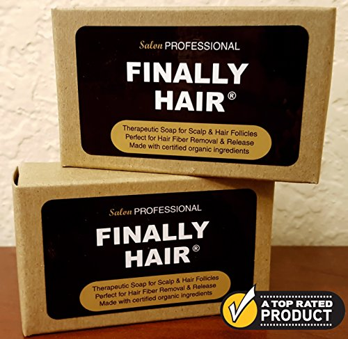 Shampoo & Conditioner Bars To Help Prevent Hair Loss. Two Therapy Bars Packed with Organic Ingredients Fight Hair Loss For Healthier Hair & Fiber Removal (2 Pack - two 4 oz bars) (Hair Condition Bar compare prices)
