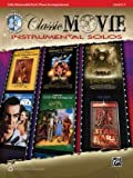 Classic Movie Instrumental Solos for Strings for Cello (Pop Instrumental Solo Series)