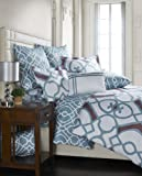 Image By Charlie 3-Piece Dream Duvet Set, King, Includes 104 by 92-Inch Duvet and 2-Piece 20 by 26-Inch Standard Sham