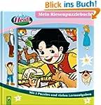 Heidi - Mein Riesenpuzzlebuch. Mit 5...
