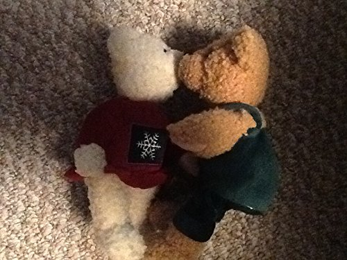 Hallmark Kiss Kiss Mistletoe Plush Bear