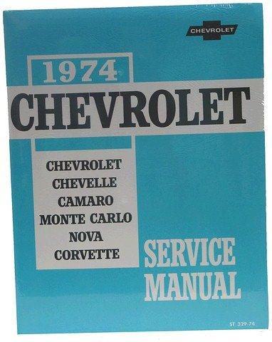 1974 Corvette Gm Shop And Service Manual