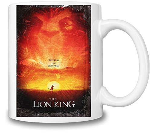 The Lion King Poster Tazza Coffee Mug Ceramic Coffee Tea Beverage Kitchen Mugs By Slick Stuff