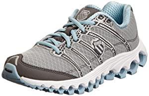 Kswiss Ladies Tubes Run 100 A Storm/Charcoal/Blue Heaven Trainer 92316-054-M 5 UK