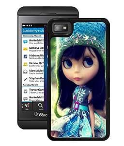 Fuson 2D Printed Cute Doll Designer Back Case Cover for BlackBerry Z10 - D756
