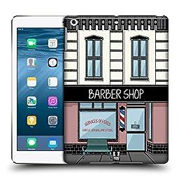 Head Case Designs Barbershop Buildings Hard Back Case for Apple iPad Air