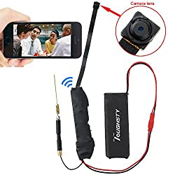 Toughsty™ 720P HD Mini P2P Wifi Hidden Camera Motion Activated Video Recorder DV Camcorder for IOS Android APP Remote View by Toughsty Tech. Co,. LTD