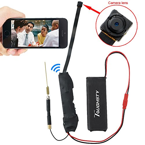 For Sale! Toughsty™ 720P HD Mini P2P Wifi Hidden Camera Motion Activated Video Recorder DV Camcord...