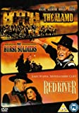 The Alamo/The Horse Soldiers/Red River [DVD]
