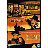 The Alamo/The Horse Soldiers/Red River [DVD]by John Wayne
