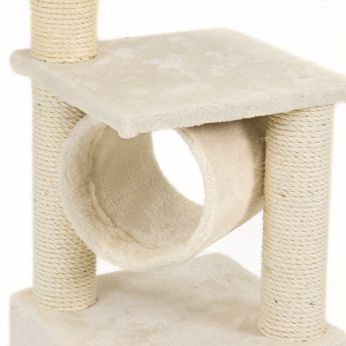 Best Choice Products Deluxe Cat Tree Condo Furniture Scratching Post Pet House Play Toy, 36″