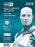 ESET Multi Device Security 2015 - 5 Geräte (Frustfreie Verpackung)