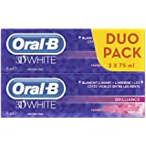 Oral-B Manual 2 Dentifrices 3D White Brilliance 75 ml