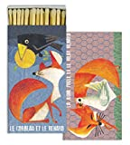 Matches - French Fox (Set of 6)
