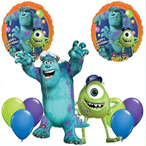 Amazon.com: Monsters University Mike & Sulley Jumbo Mylar