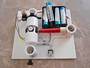 Simple Electric Motor Kit With Optical Control Diy Science Projects Kids Education