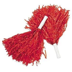Red Pom Poms (1 dz)