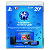 Carte Playstation Network 20 eurospar Sony