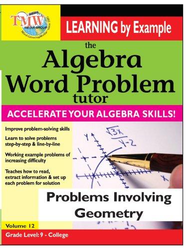 Algebra Word Problem: Problems Involving Geometry (Math Programs Algebra compare prices)