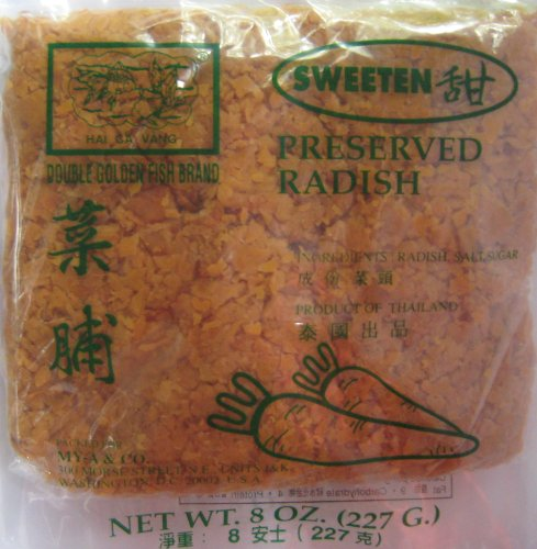 Preserved Minced Radish - 8oz