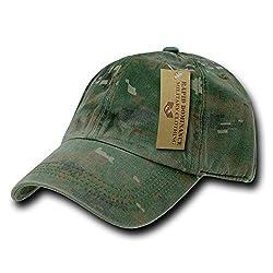 RAPID DOMINANCE RAPID DOMINANCE Camo Polo Caps (One Size, Woodland Digital)