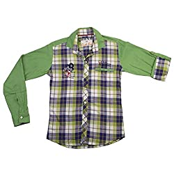 RED FOX Green Shirt in Brand for Kids