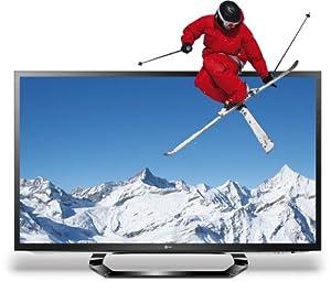 LG 42LM620S 107 cm (42 Zoll) Cinema 3D LED-Backlight-Fernseher, EEK A+ (Full-HD, 400Hz MCI, DVB-T/C/S2, Smart TV, HbbTV) schwarz