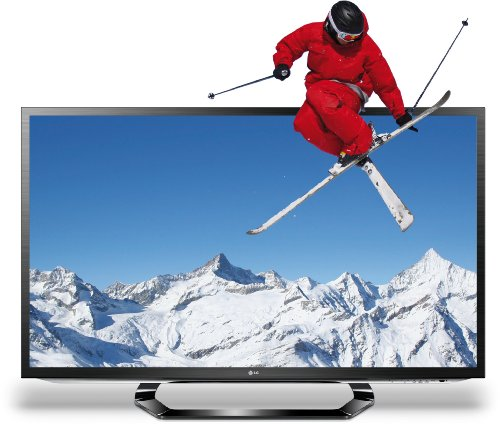 LG 42LM620S 107 cm (42 Zoll) Cinema 3D LED-Backlight-Fernseher, EEK A+ (Full-HD, 400Hz MCI, DVB-T/C/S2, Smart TV, HbbTV) schwarz