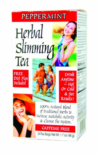 Slimming Tea Peppermint 24 Bag(S)