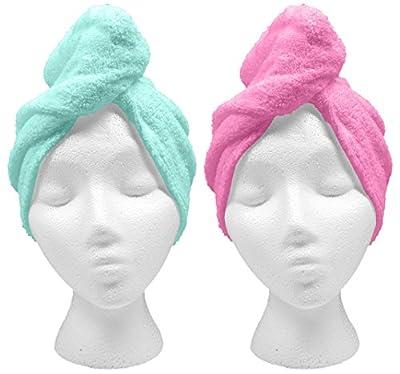 Turbie Twist XL Hair Towels (2 Pack)