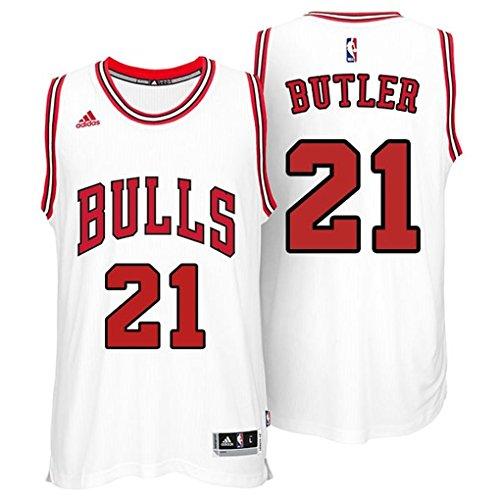Jimmy Butler Chicago Bulls Adidas Swingman White Jersey