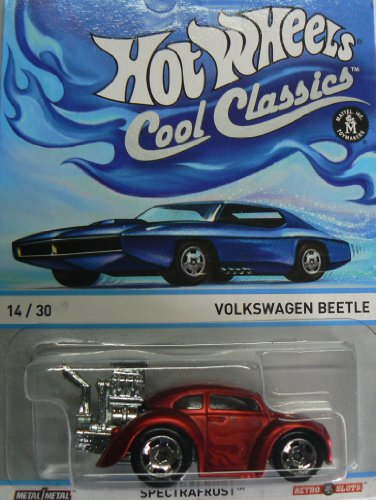 Hot Wheels Cool Classics Volkswagen Beetle 14/30 Spectrafrost