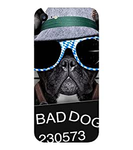 Evaluze SMART DOG Printed Back Cover for APPLE IPHONE 7