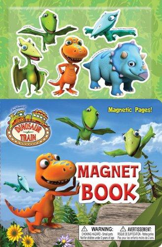 Dinosaur Train Magnet Book [With 5 Dinosaur Magnets]